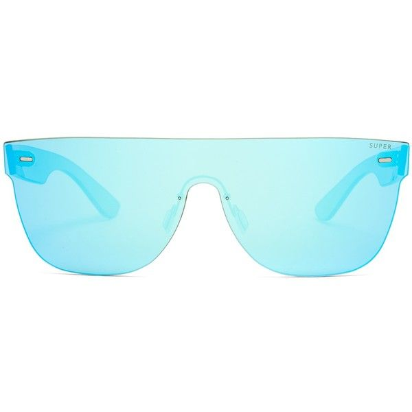 7426f45f6e RetroSuperFuture Tuttolente flat top sunglasses ( 245) ❤ liked on Polyvore  featuring men s fashion