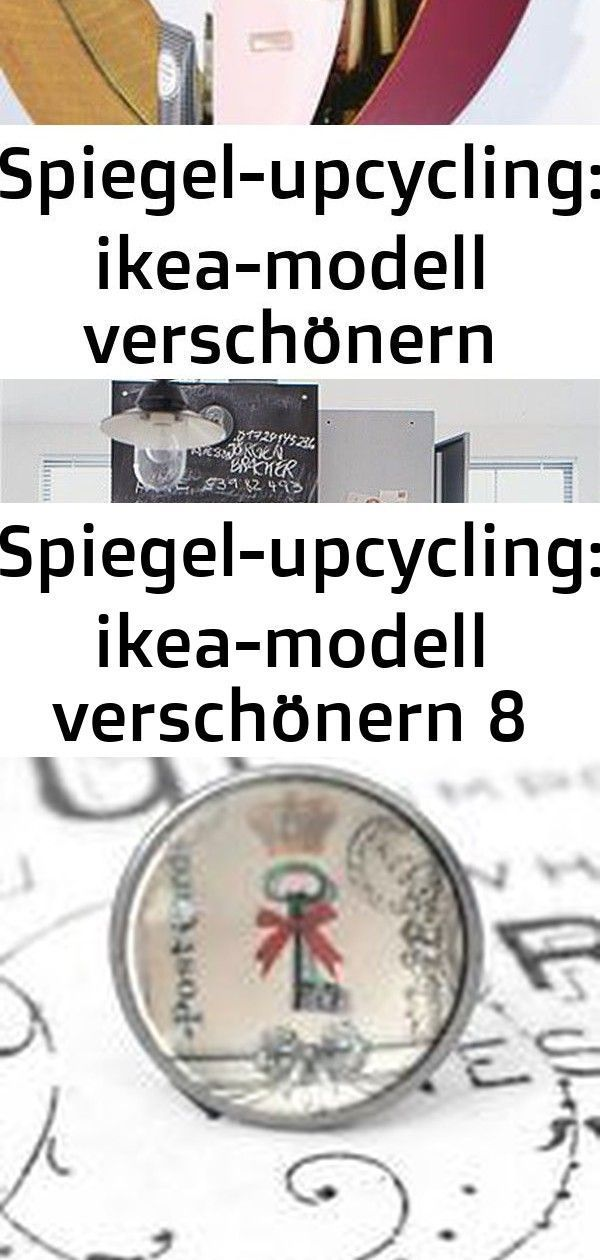 Mirror upcycling: Ikea model embellish 8 # ikeamodell #spiegelupcycling #vers ...#embellish #ikea #ikeamodell #mirror #model #spiegelupcycling #upcycling #vers