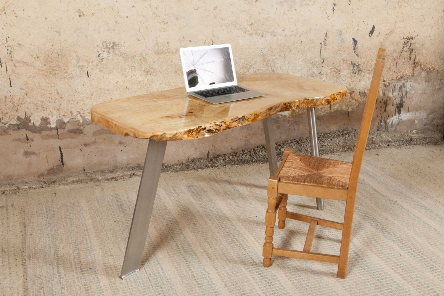Sycamore Handmade Desk by coffeetableshop on Etsy