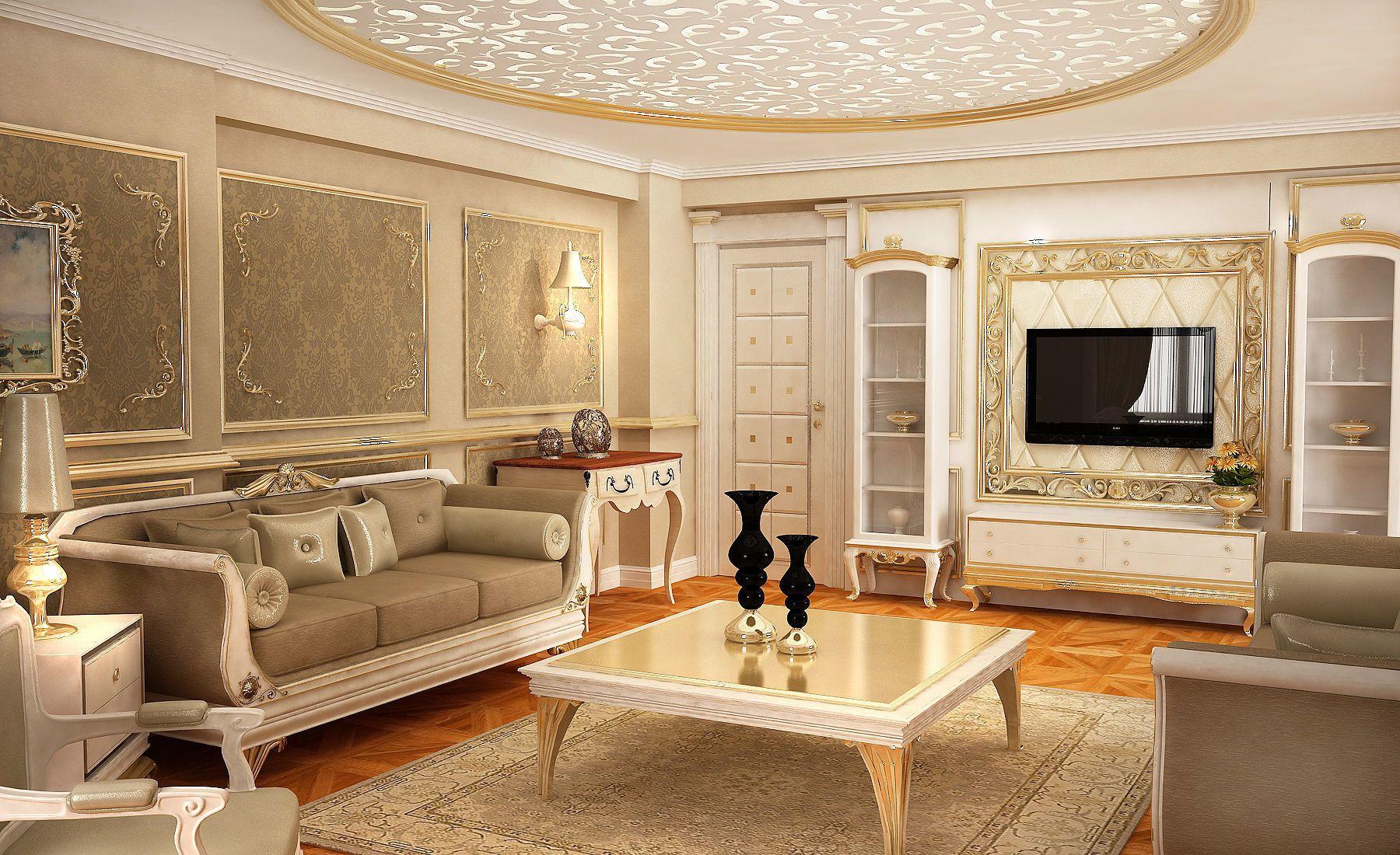 Living Room Classic Escape Walkthrough 3d Model Di 2019 Home Design Minimalist