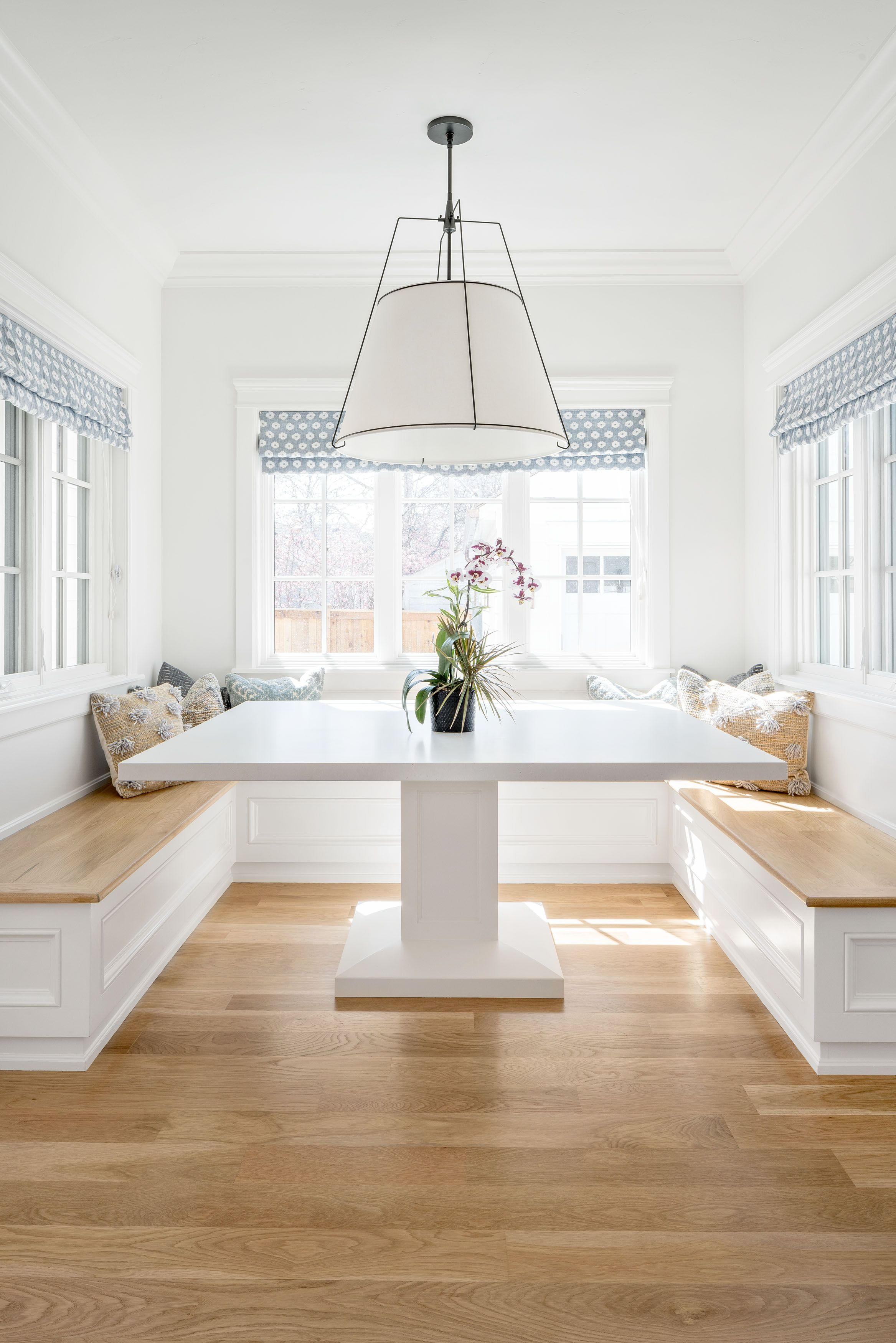 Breakfast Nook Herbert Ave Banquette Seating In Kitchen Modern Farmhouse Kitchens Dining Nook