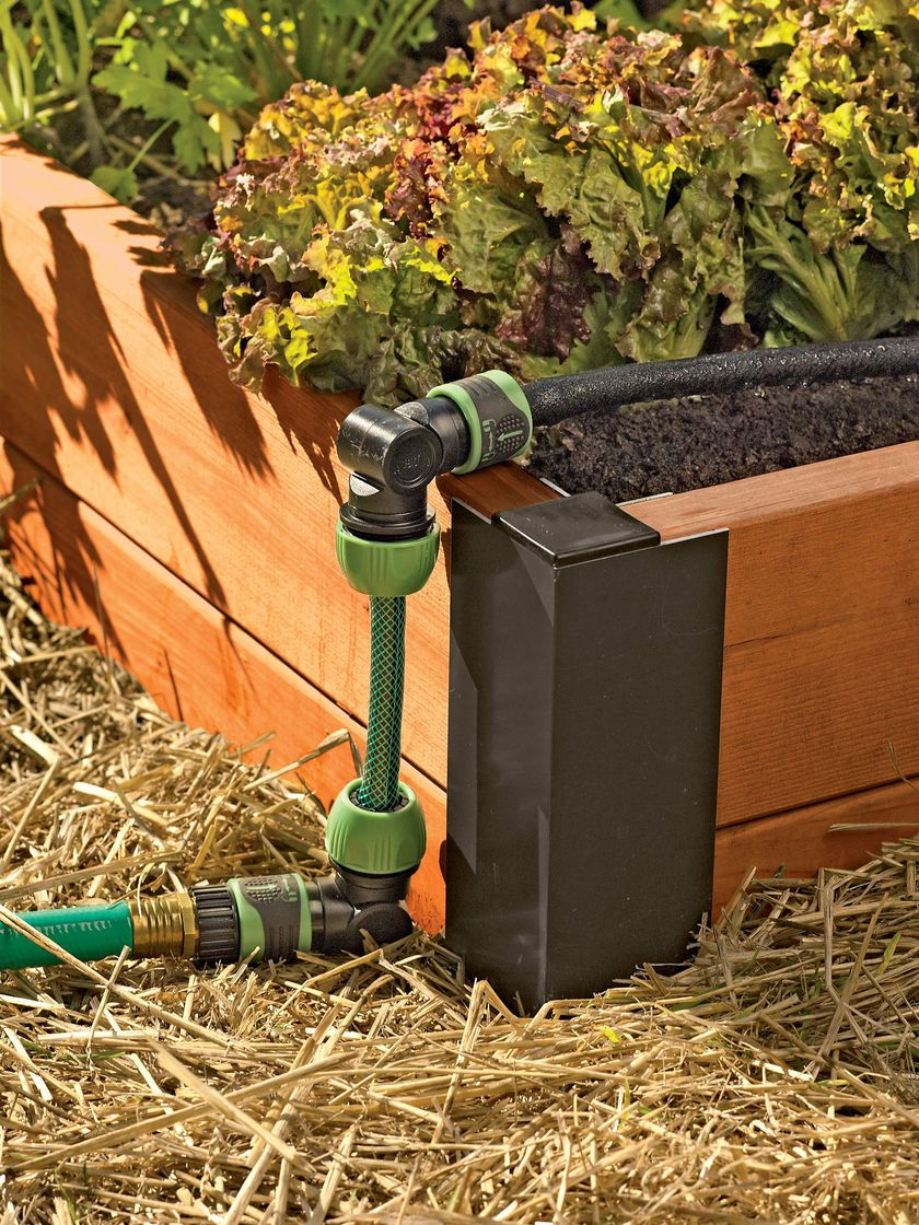 Raised Bed Drip Irrigation System Snip N Drip Gardener S