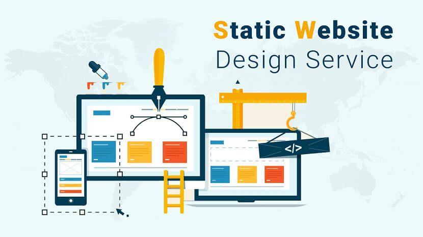 Best Static Website Design Service Provider Company In India Web App Design Development In 2020 Web Development Design Website Design Services Web Design Services