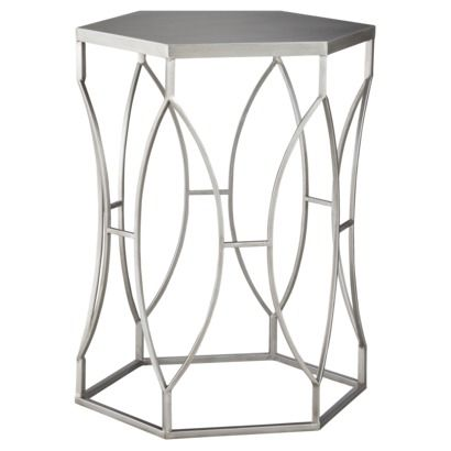 Interior Design on a Budget: Target Threshold Collection Furniture. Metal Accent  TableMetal ... - Interior Design On A Budget: Target Threshold Collection Furniture