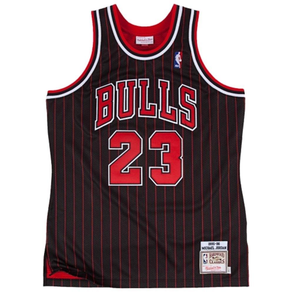new concept 642ea ed775 Mitchell & Ness Chicago Bulls Michael Jordan 1995-1996 ...