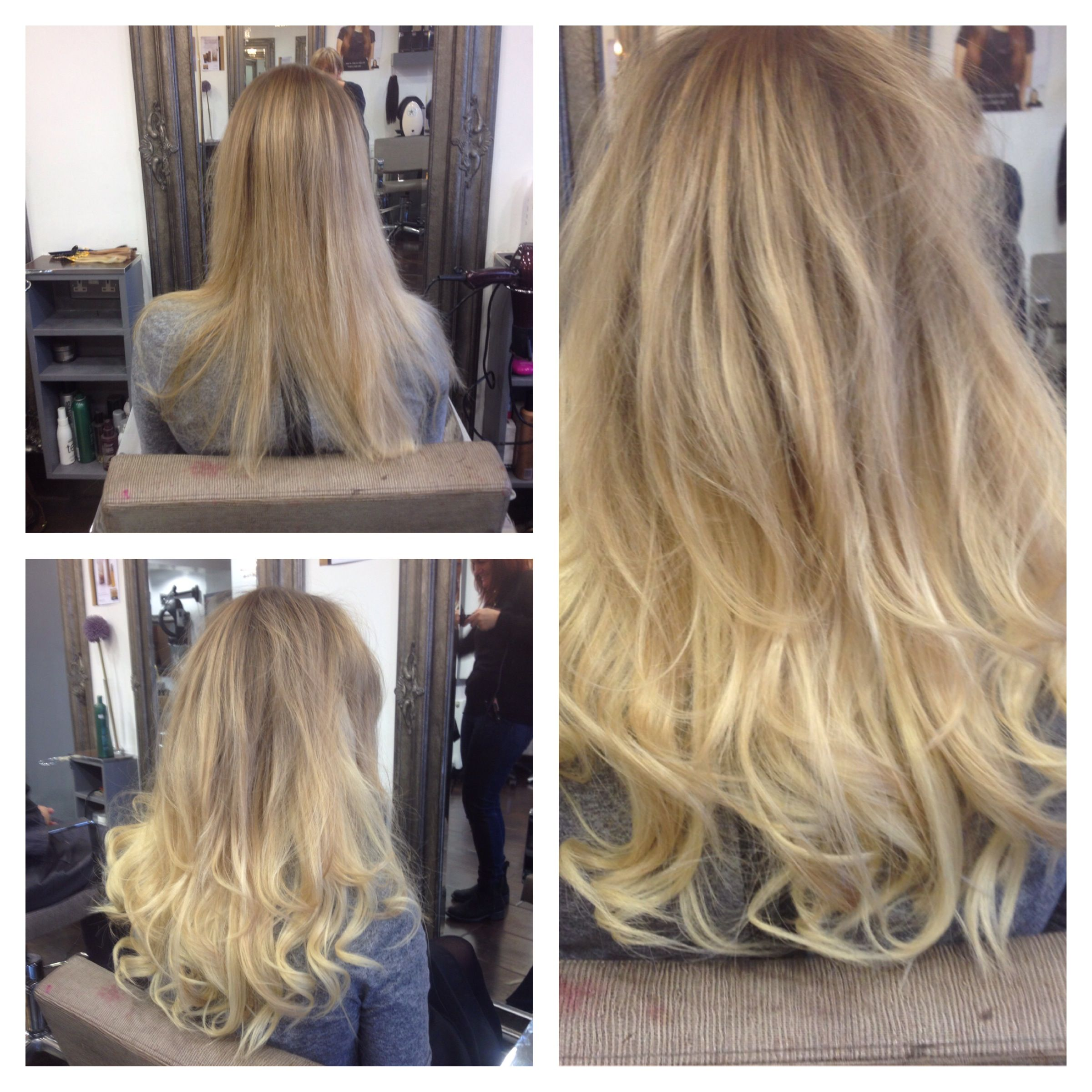 Big hugs to the team at colour lounge who recently styled a golden big hugs to the team at colour lounge who recently styled a golden blonde halo for halo hair extensionsbefore pmusecretfo Gallery