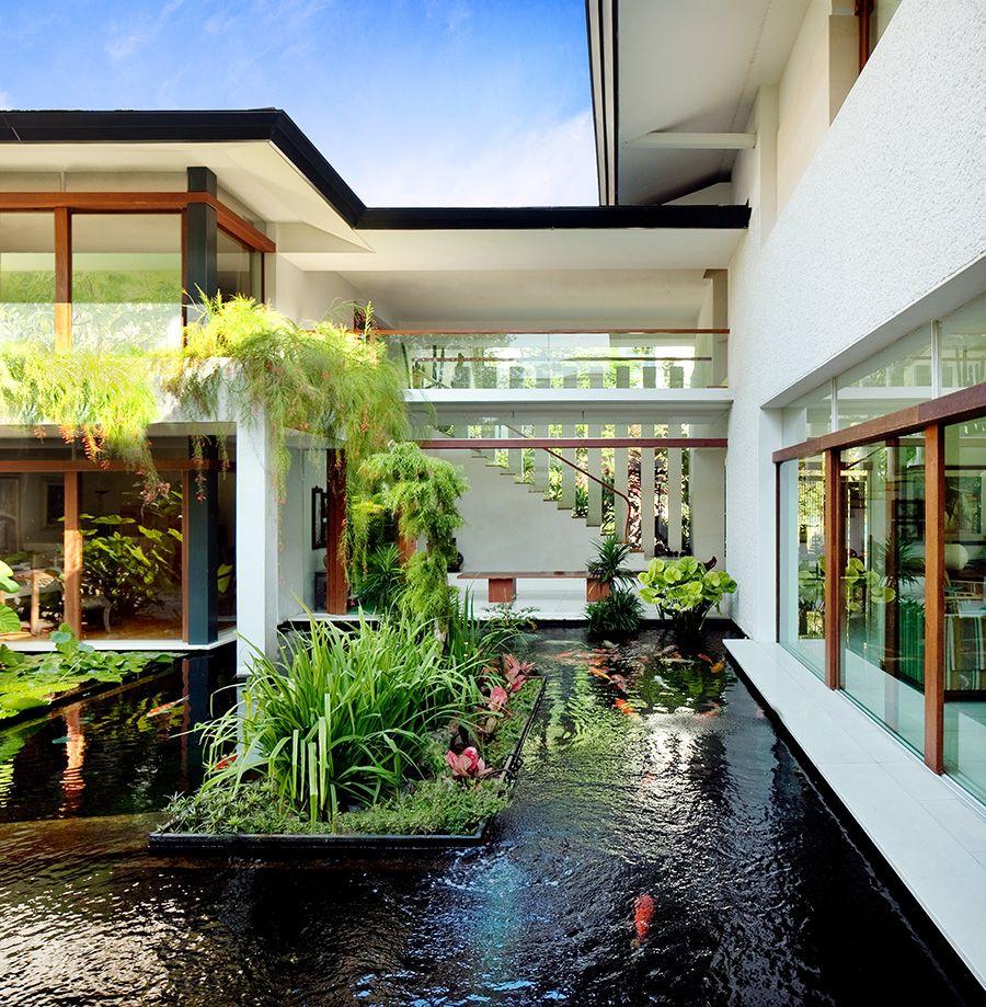 Garden House Design: Guz Architects / Residential / Astrid Hill