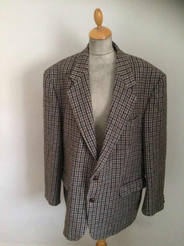 94a846fbedc4d Details about Mens Harris Tweed Country Jacket Size L chest 46' in 2018 |  FOR SALE TWEED JACKETS ..UK EBAY SHOP | Pinterest | Tweed, Jackets and Tweed  ...