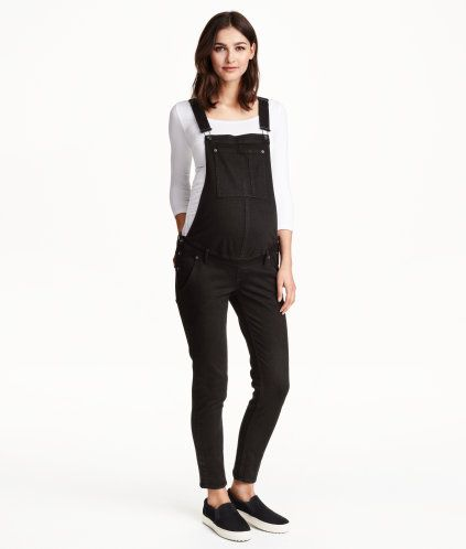 reasonably priced price remains stable buying cheap MAMA Bib Overalls | Product Detail | H&M | hopeful baby ...