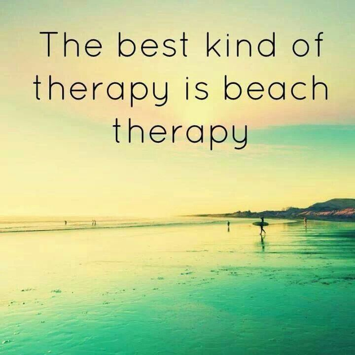 #beachtherapy