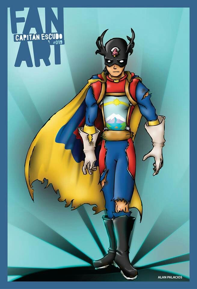 Capitán Escudo fan art