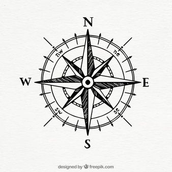 Download Hand Drawn Vintage Compass For Free Brujulas Dibujo Compass Tattoo Tatuajes Brujula