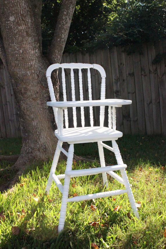 Vintage Wood Jenny Lind High Chair Jenny Lind Crib