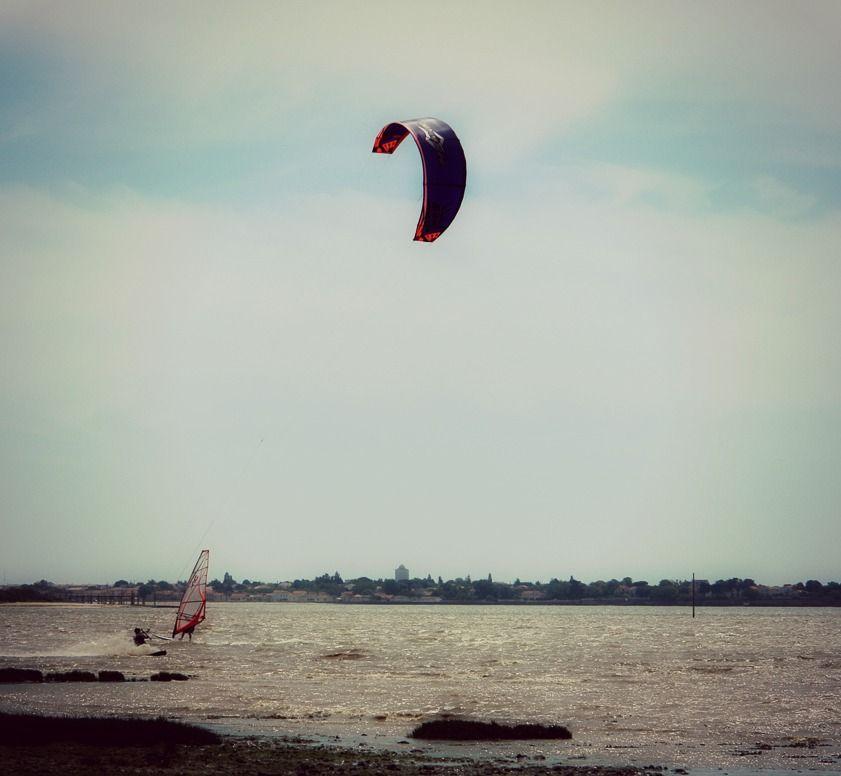 #Sport #Nautisme #KiteSurf #Fouras #RochefortOcean Charente Maritime Poitou Charentes