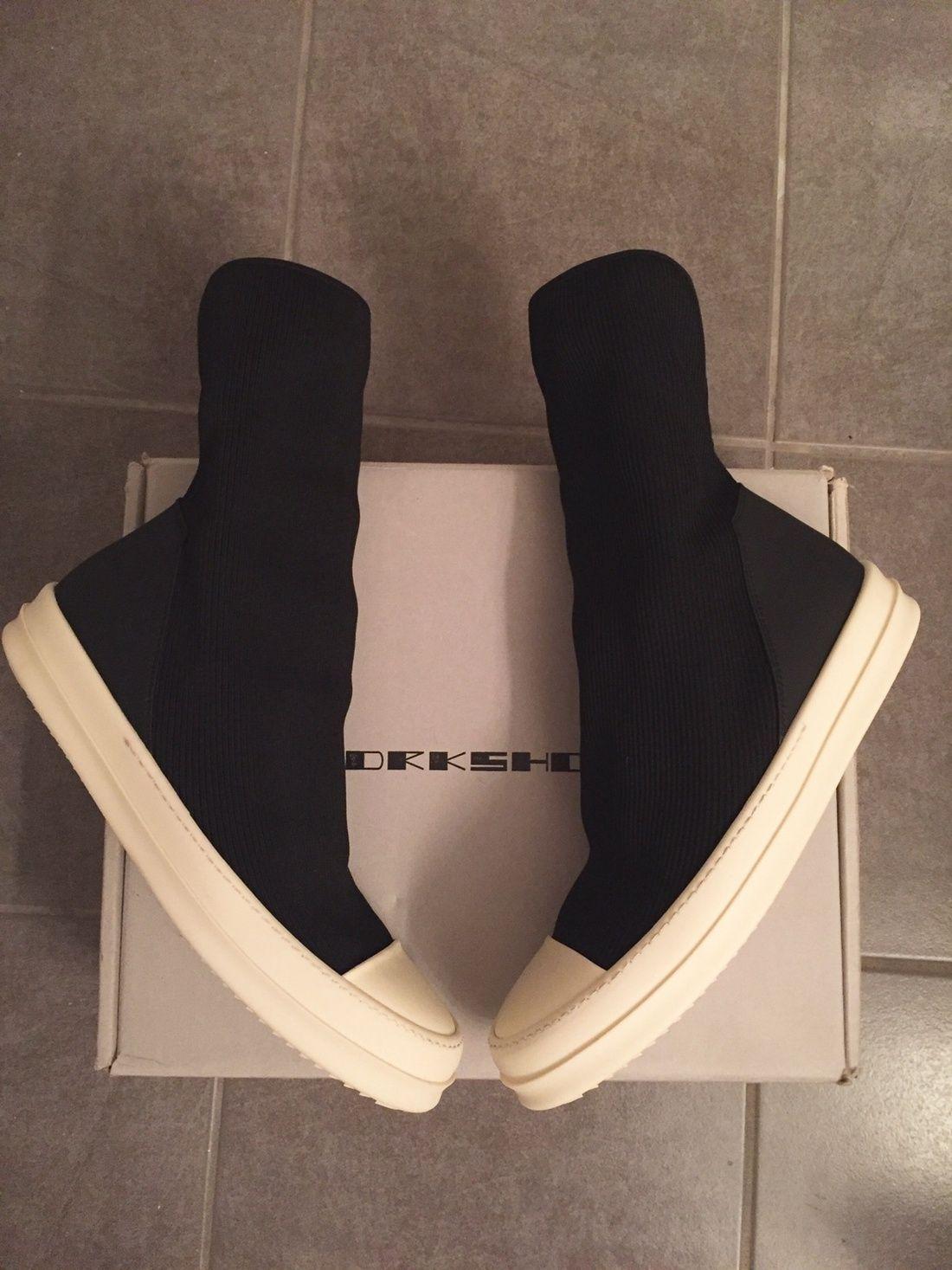 f7db25fc3656 Rick Owens Drkshdw Scuba Sock Size US 12 / EU 45