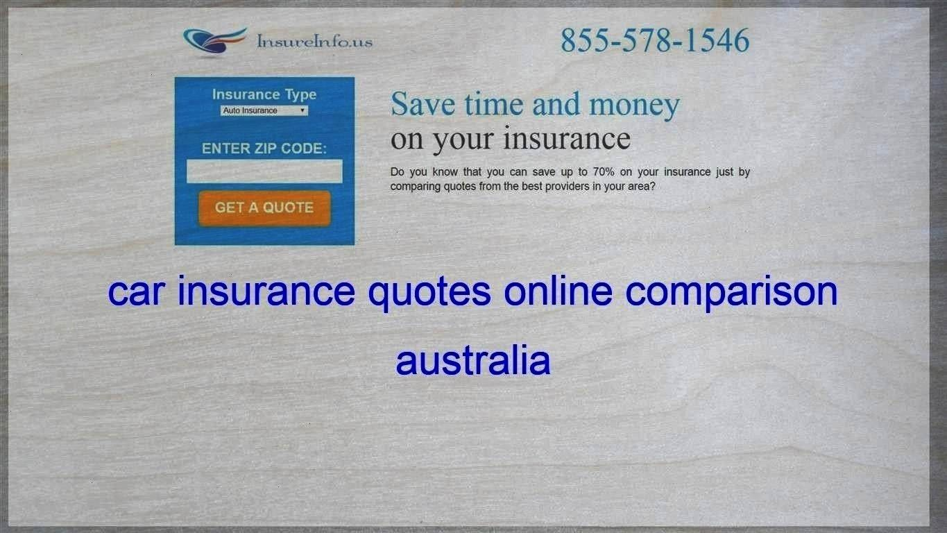 Comparison Australia Insurance Carphoto Several Online