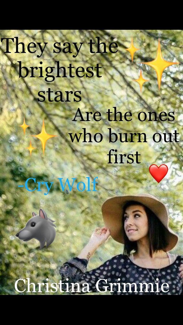 Christina Grimmie – Cry Wolf Lyrics | Genius Lyrics