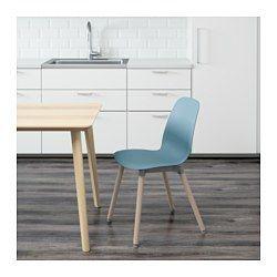 LEIFARNE Chair Light blue/ernfrid birch | Open plan living ...