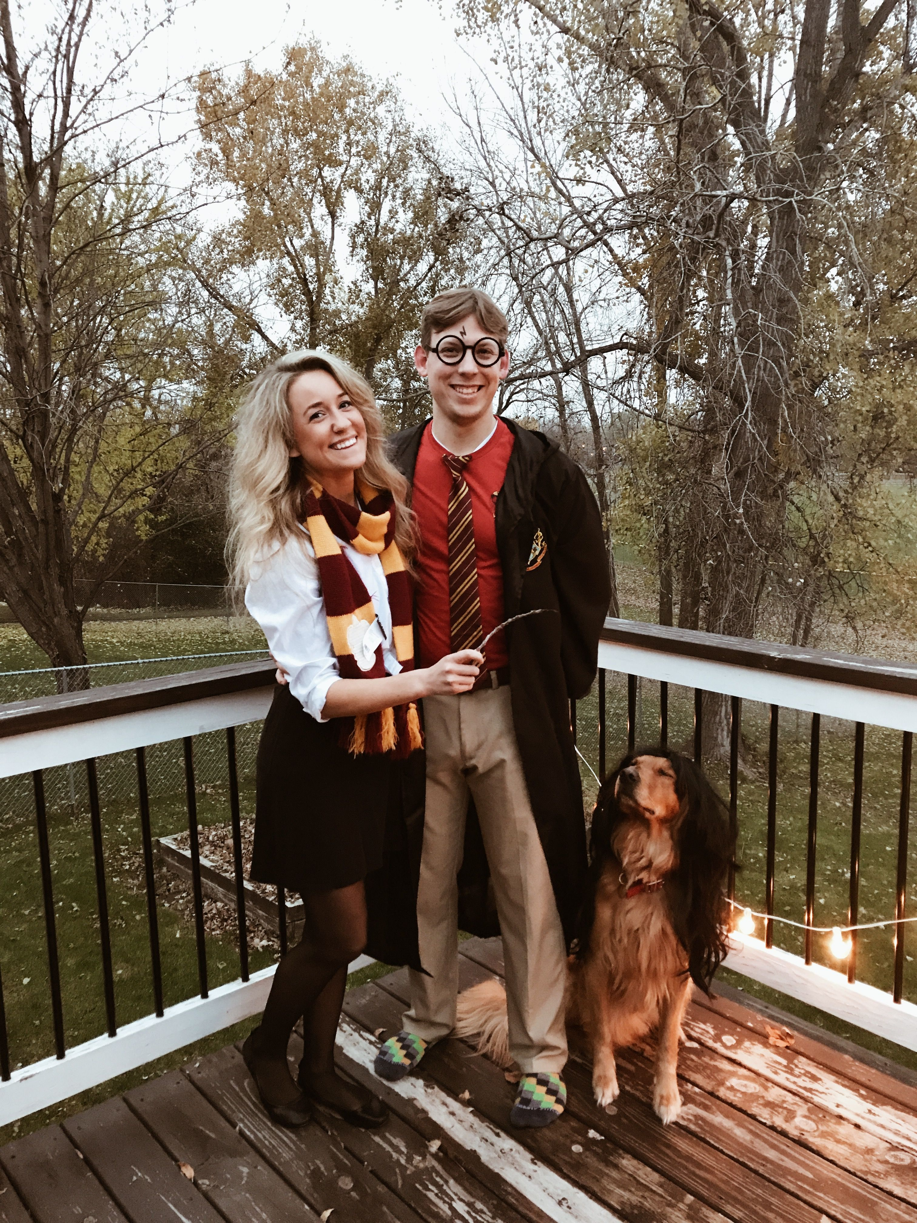 Harry Potter Couples Costume With Dog As Professor Snape Instagram