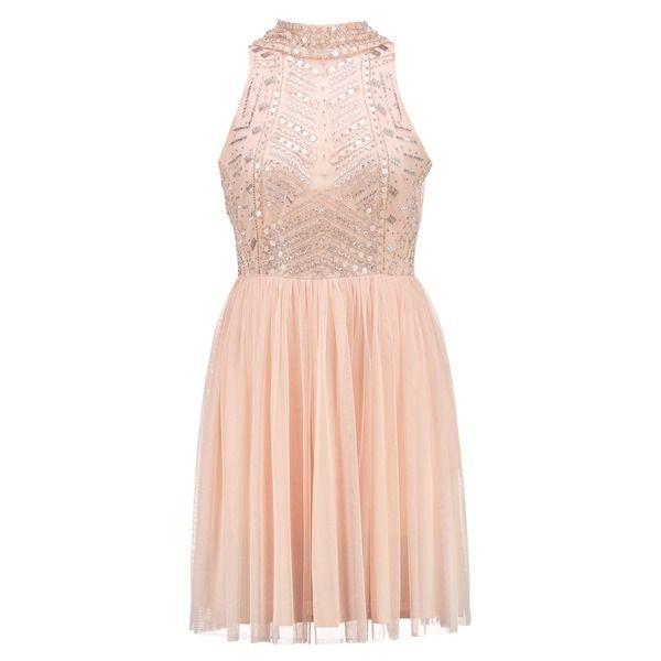 Lace & Beads WREN SKATER Cocktailkleid/festliches Kleid nude ...