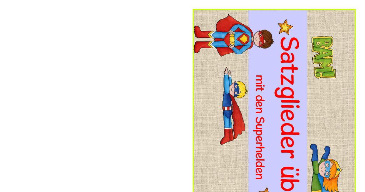 Satzglieder-Kartei.pdf | Basteln | Pinterest | Schule, Deutsch und ...