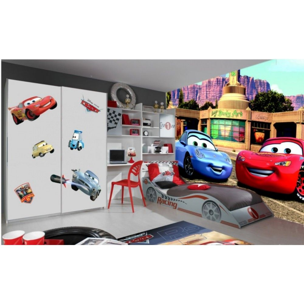 Disney Cars Lightning McQueen And Sally Wallpaper