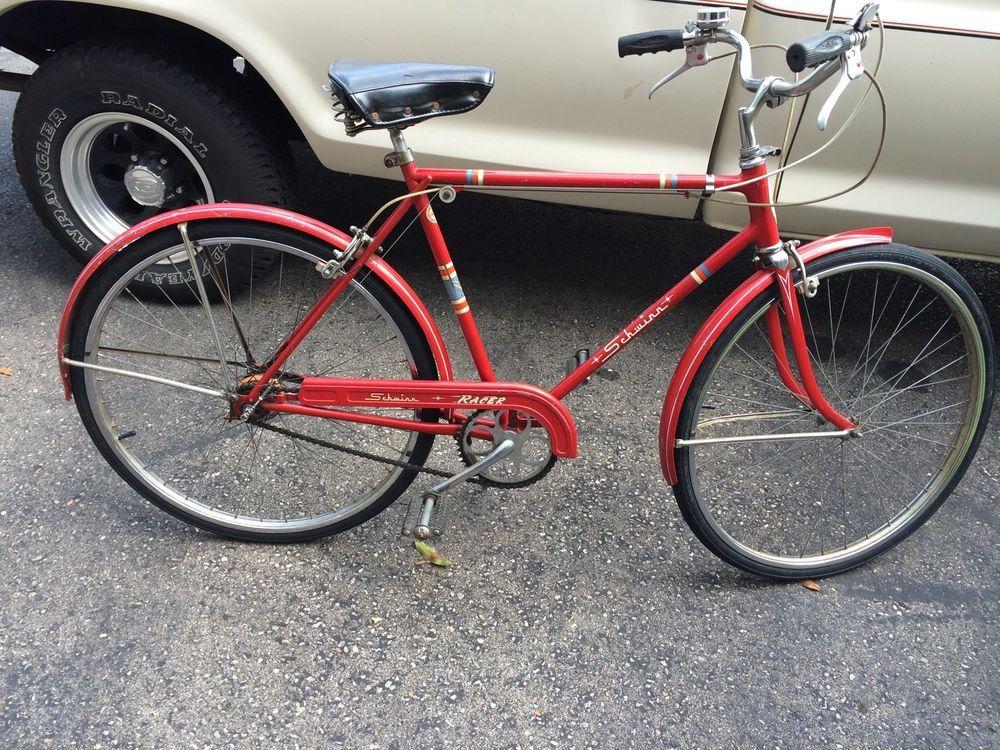 48b1c181c40 Vintage 22 inch Schwinn Racer 3 Speed | eBay | Cincinnati Pickers ...