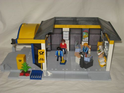 Playmobil post office store 4400 figure ebay playmobil for Playmobil post