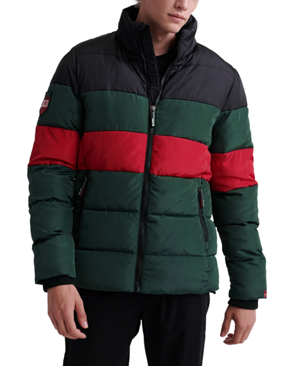 Superdry Men's Colorblocked Puffer Jacket & Reviews
