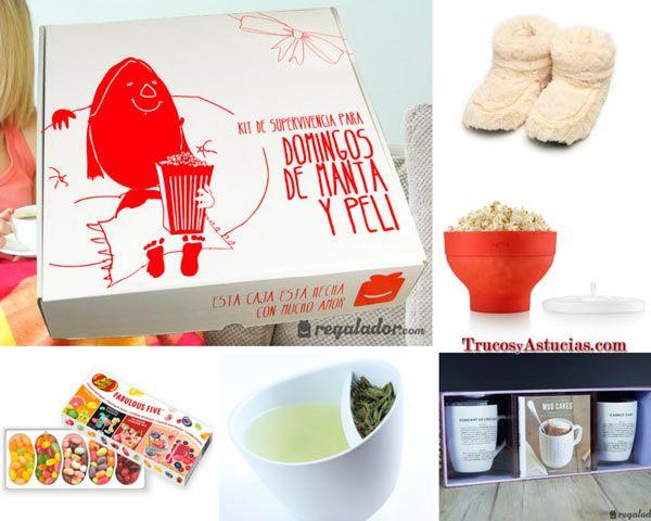 Caja de regalo con sorpresas romanticas para san valent n - San valentin regalos ...