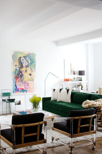 livingroom johnston by photographer emily johnston white living room with just green black other colours are in 7828