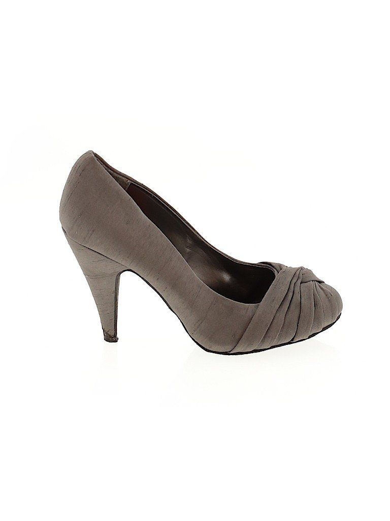 Rocket Dog Heels: Gray Solid Shoes