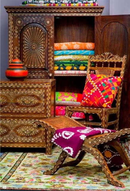 Colourfull Eclectic Lifestyle / #furniture #home #decor #interior