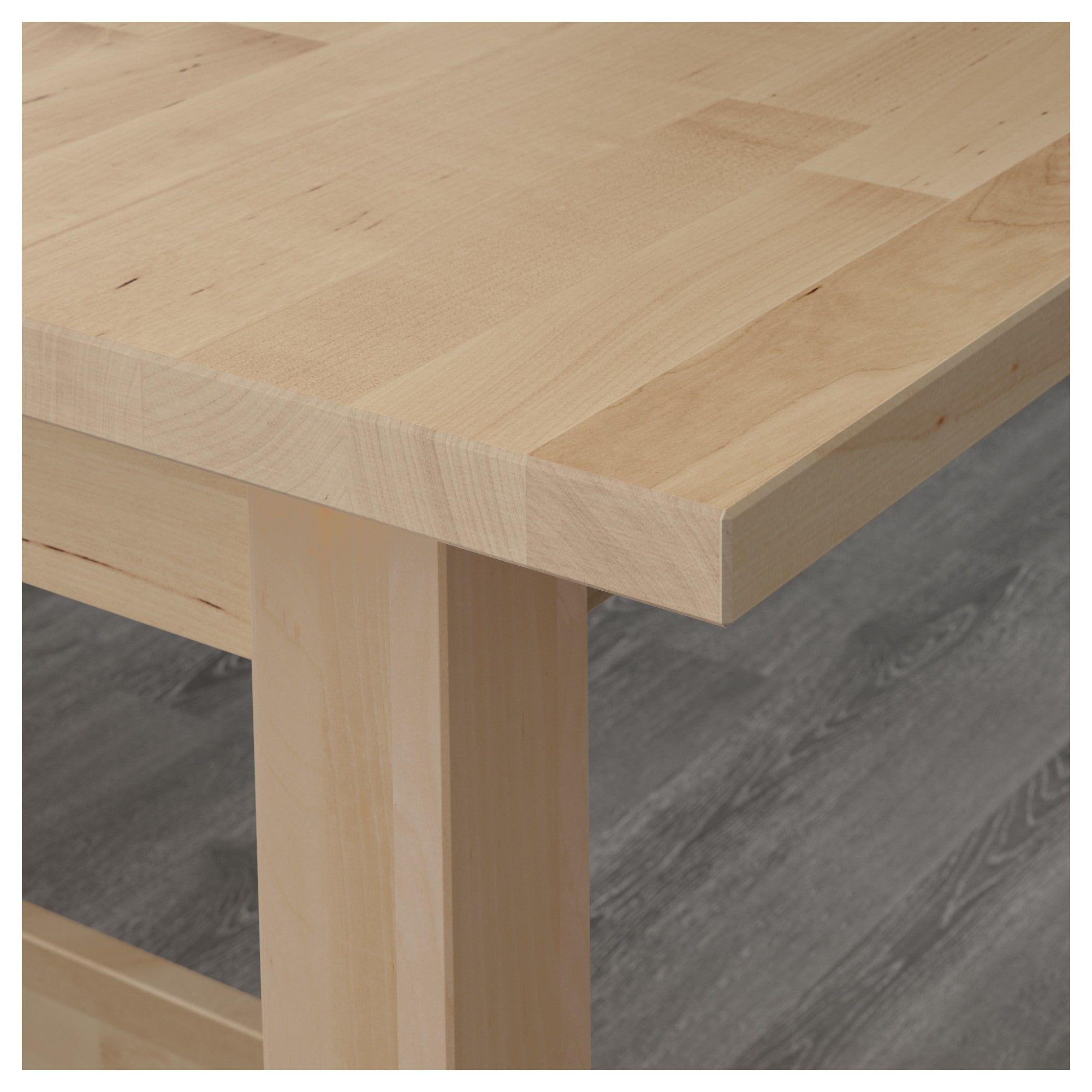 Norden Idolf Tisch Und 4 Stuhle Birke Schwarz Ikea