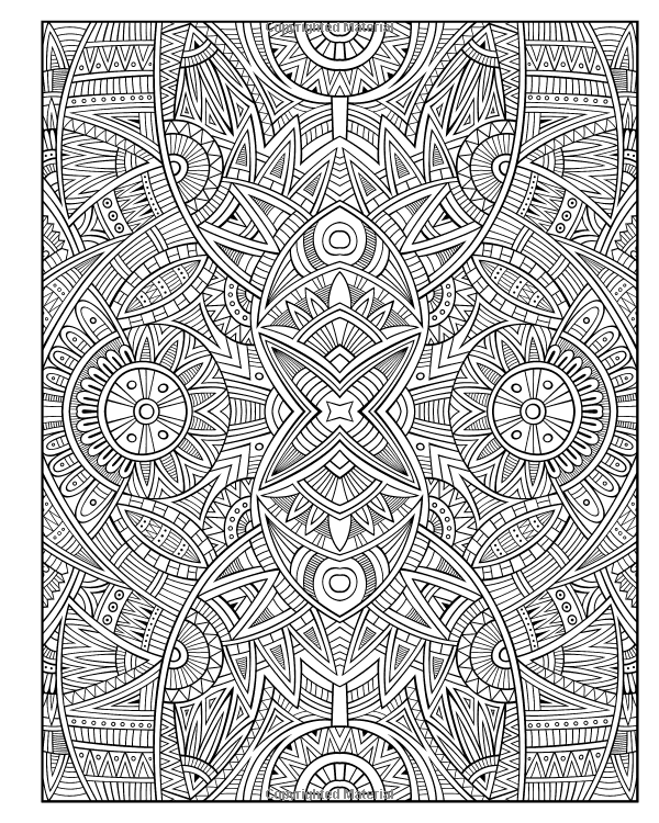 Free Advanced Geometric Coloring Pages, Download Free Clip Art ... | 750x600