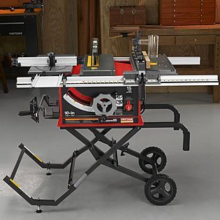 Craftsman Professional 15 Amp 10 Portable Table Saw 21829 539 Portable Table Saw Craftsman Table Saw Table Saw