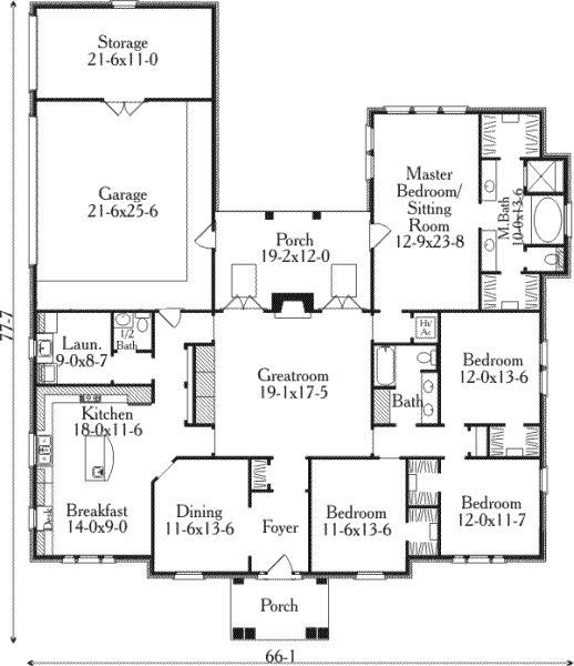 4 Bedroom House Plans Page 148 House Layout Plans 4 Bedroom House Plans Bedroom House Plans