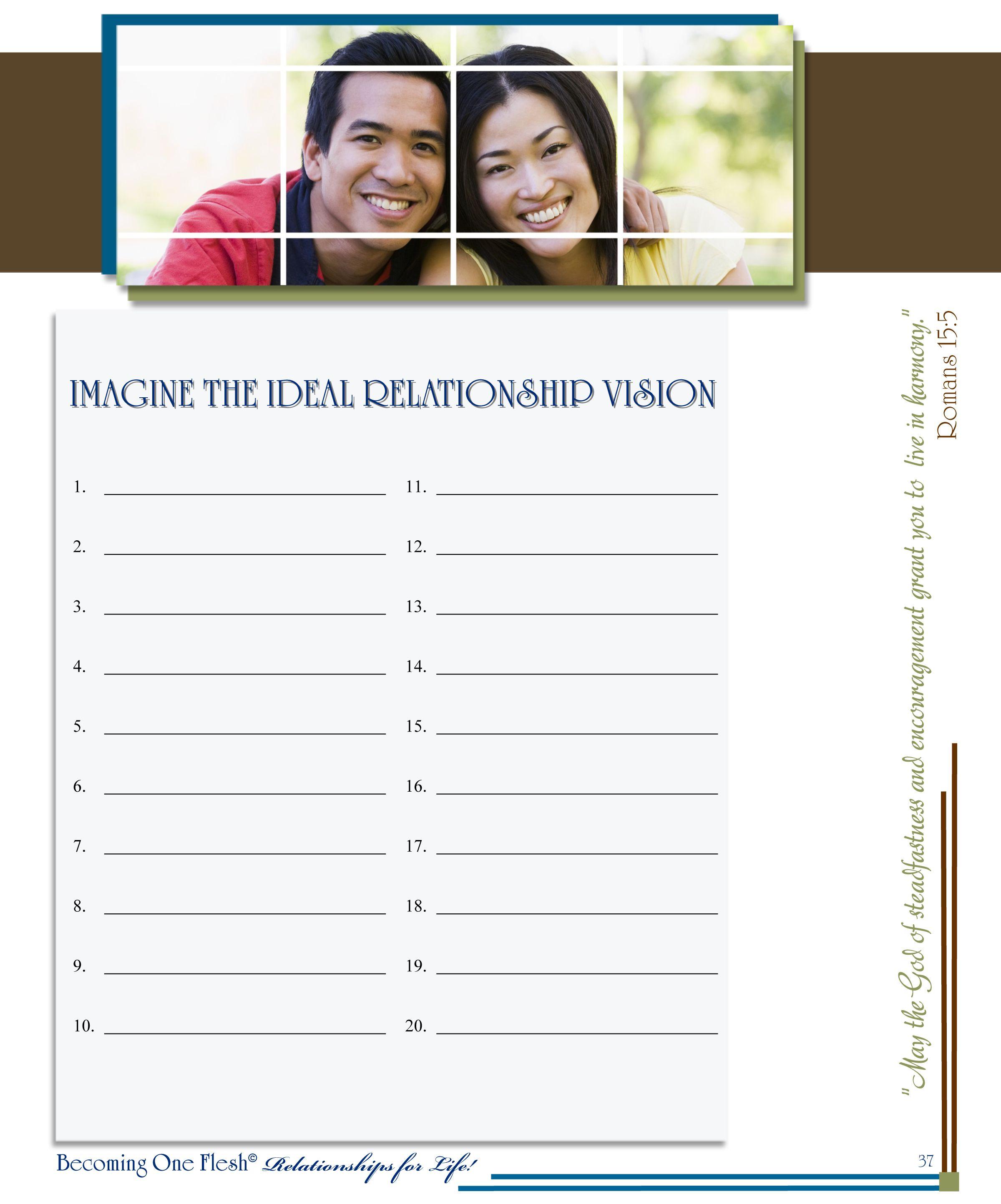 Worksheet Flesh Marital Program