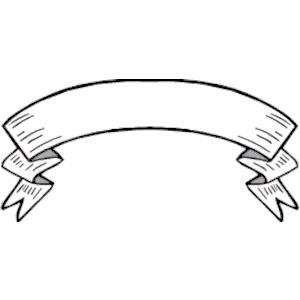 White Ribbon Banner Clipart Clipartix Banner Clip Art Clip Art Vintage Clip Art