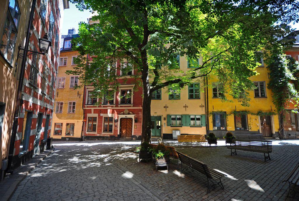 Old Town (Gamla stan), Stockholm.