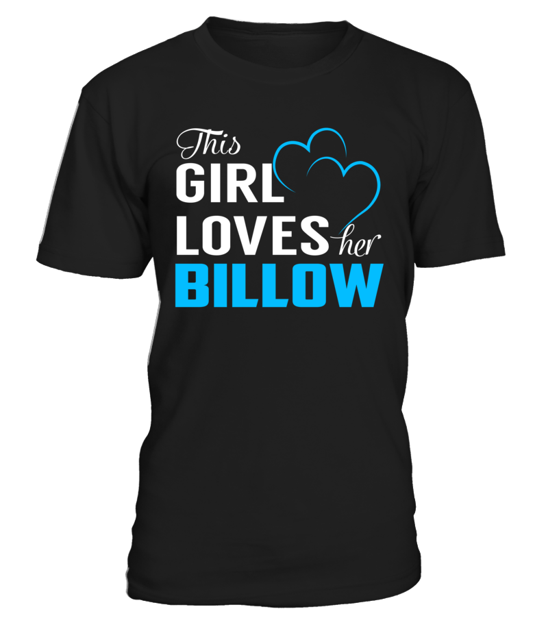 This Girl Love Her BILLOW Last Name T-Shirt #Billow