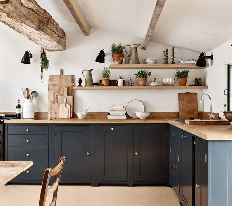 35 Admirable Farmhouse Grey Kitchen Cabinet Design Ideas Tuscan Kitchen Tuscan Kitchen Design Kitchen Design Color
