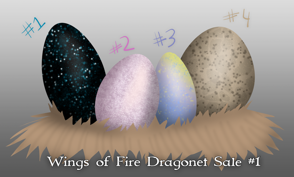 Wings of Fire Egg Hatching Stream #1 [ALL SOLD] by