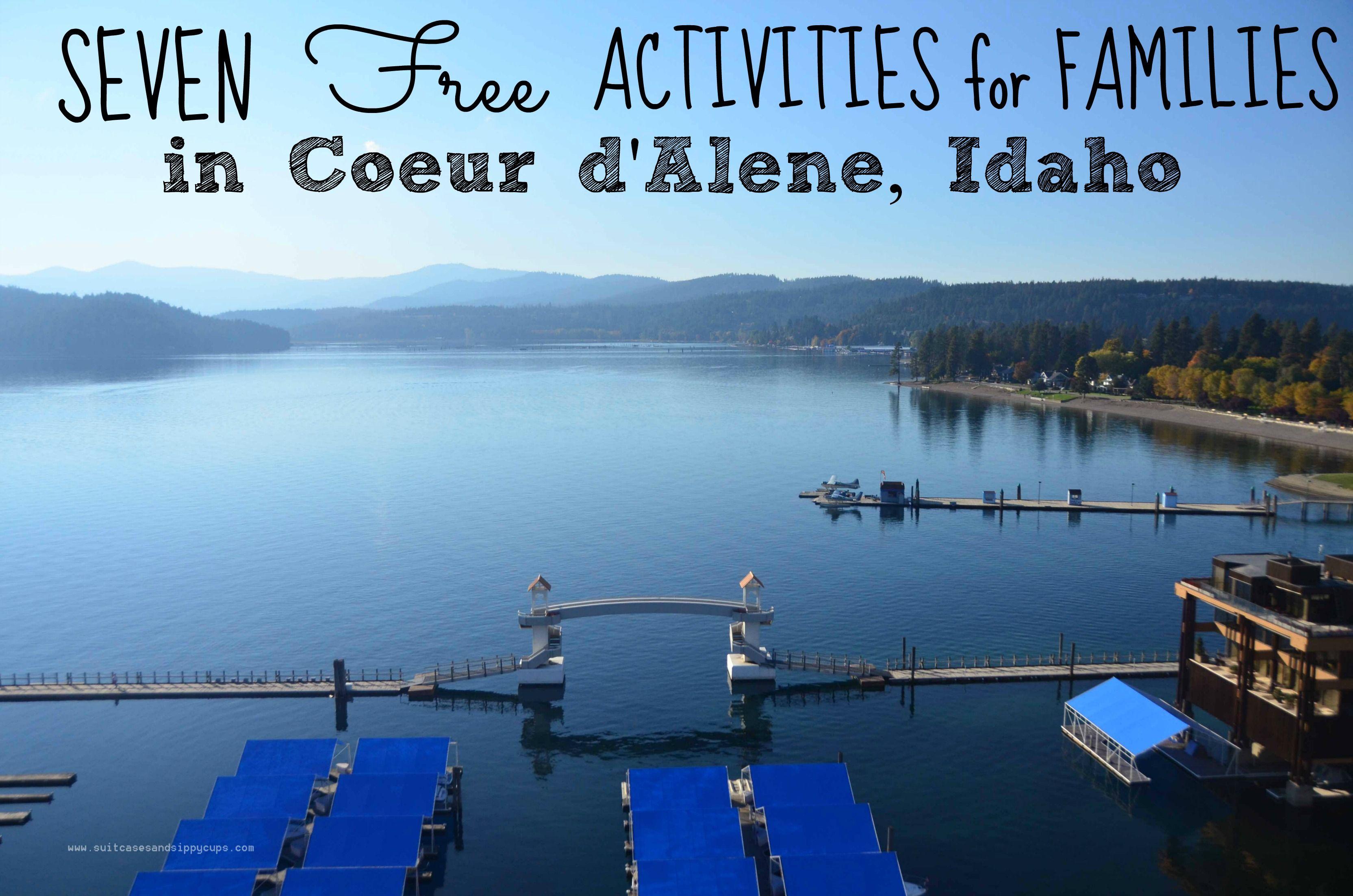 Free activities in coeur dalene idaho idaho travel