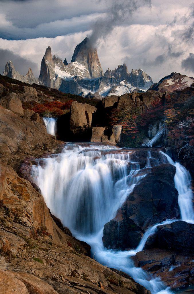 The Smoking Mountain, Patagonia.  ♥♥