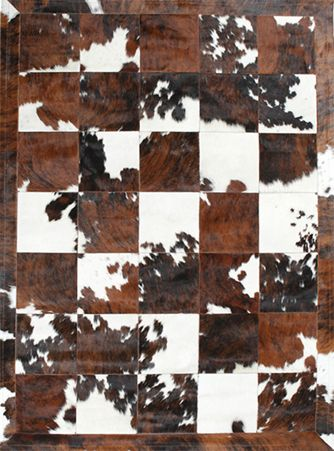 Spanish Carousel Is Our Incredible New Range Of Designer Patchwork Hide Rugs From Spain Each Piece Is Delica White Rug Patchwork Cowhide Rug White Cowhide Rug