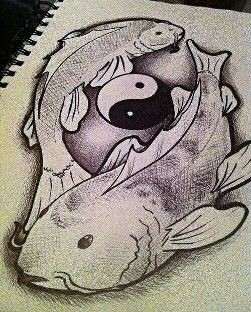 Cool fish drawing world of art pinterest for Cool fishing stuff