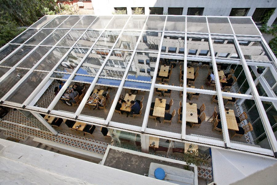 Commercial Restaurant Enclosure Retractable Patio Roof Systems Glass Roof Roof Architecture Pergola With Roof