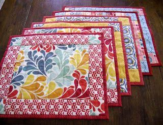 Denton Drapes On Twitter Easy Placemats Placemats Patterns Diy Placemats