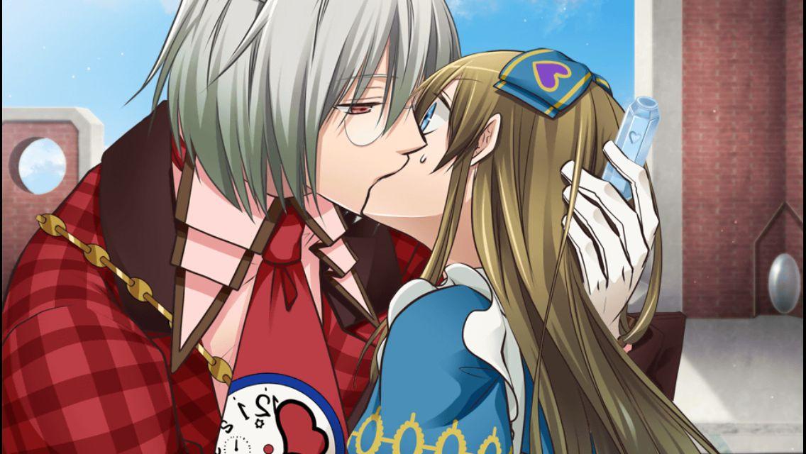 алиса в стране сердец картинки поцелуй посетив крепость